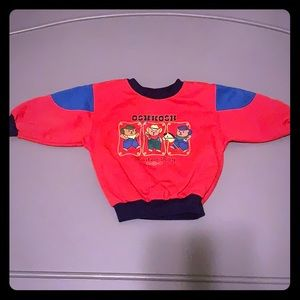 Vintage OshKosh Rodeo Roy Sweatshirt
